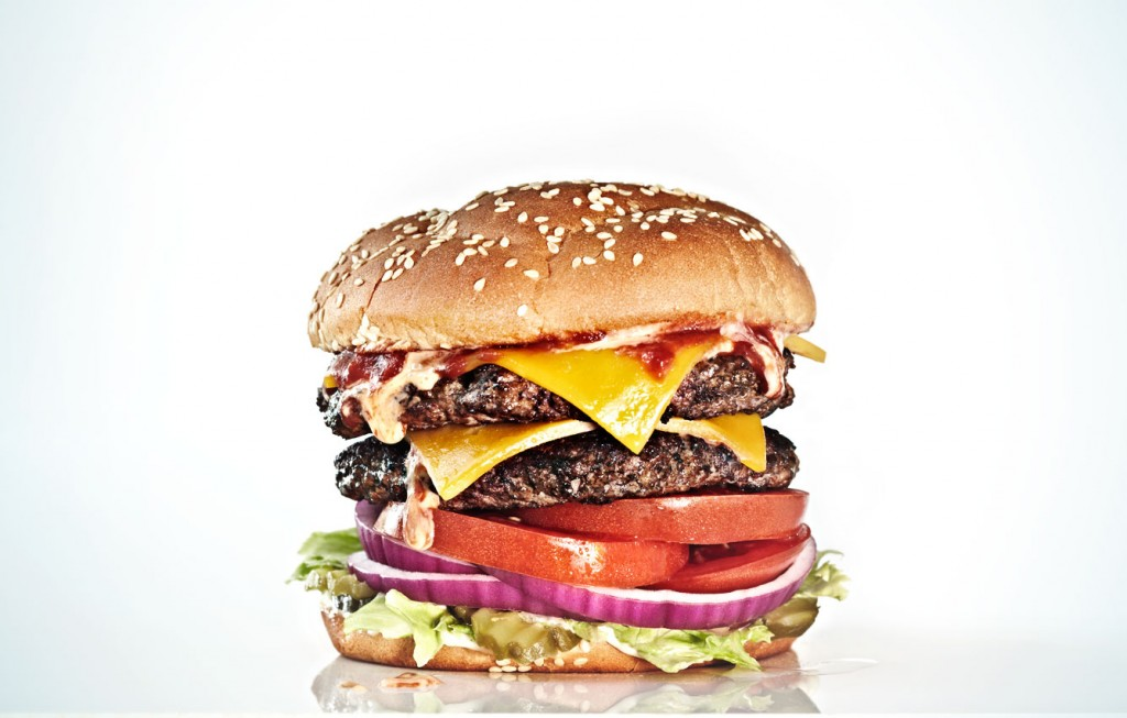 beef burger, beefy, meat, fast food, food photographer, food photography, los angeles, crystal cartier