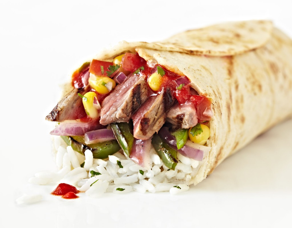 steak burrito, beef, meat, mexican food, fast food, food photographer, food photography, los angeles, crystal cartier