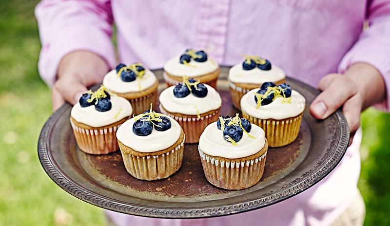 gluten free, cupcakes, dessert, recipe, lemon, fruit, food photographer, food photography, crystal cartier, los angeles