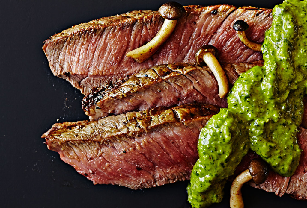 steak, chimichurri, recipe, grilling, food photography, Crystal Cartier