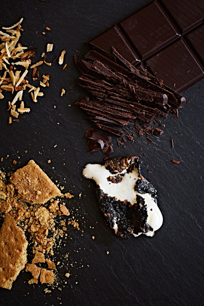 Deconstructed s'mores