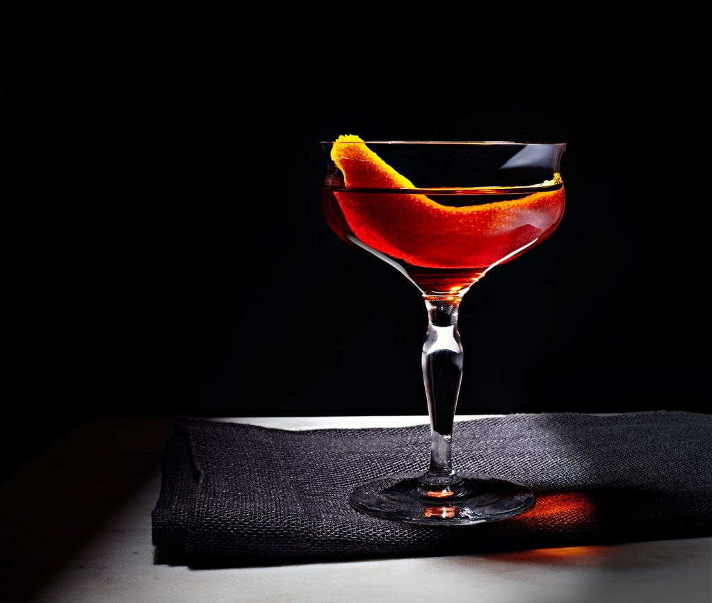 Silent Night Cocktail – Bourbon and Benedictine